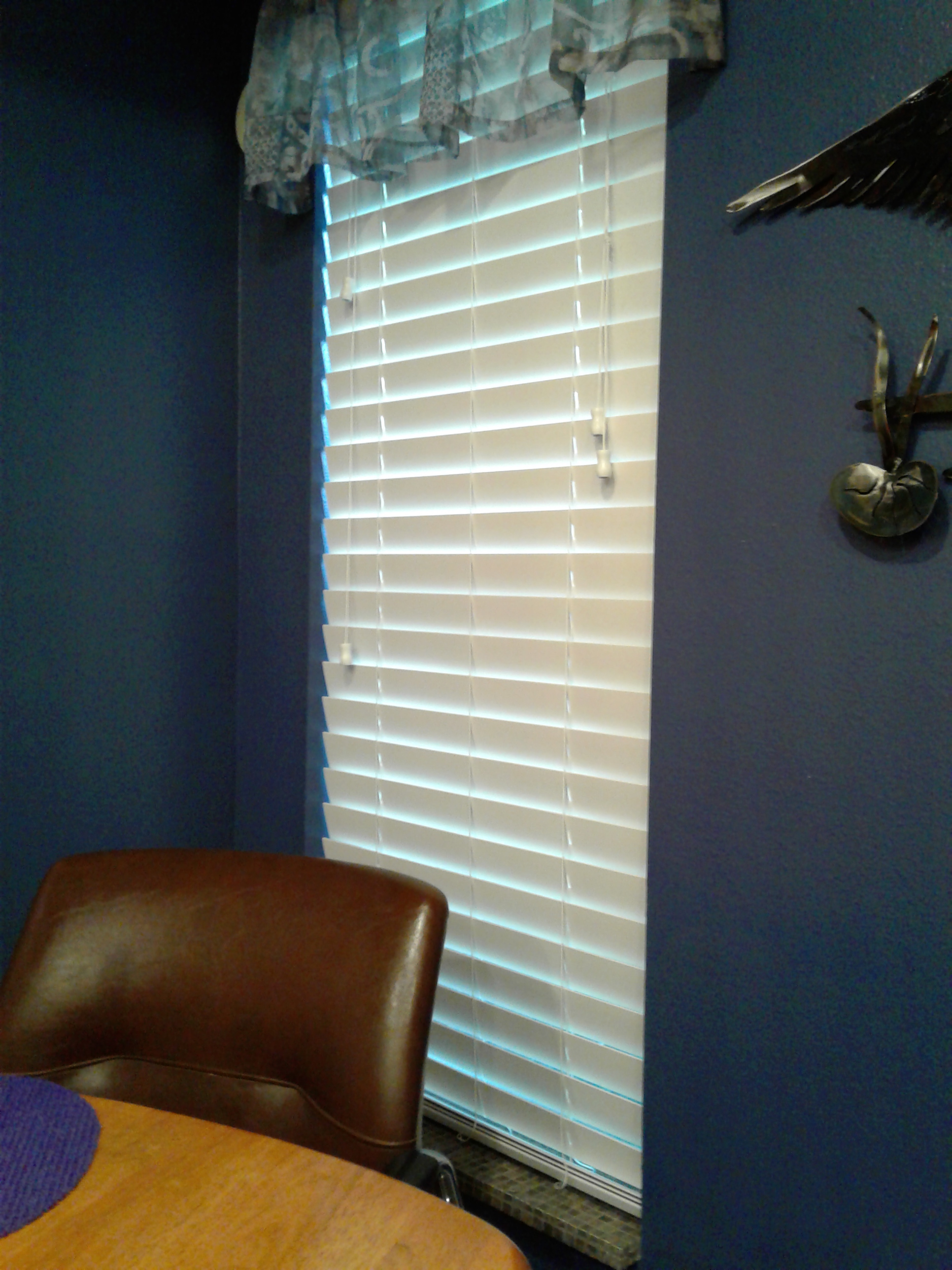 hampton thehomedepot bay blinds faux p wood