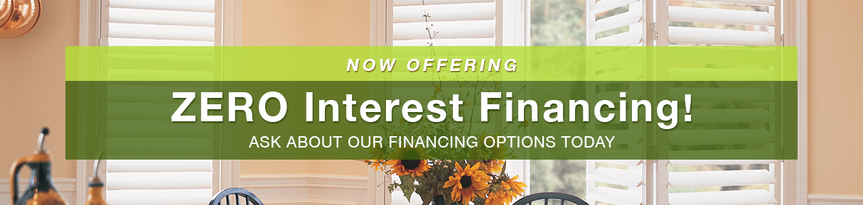Zero Interest Financing
